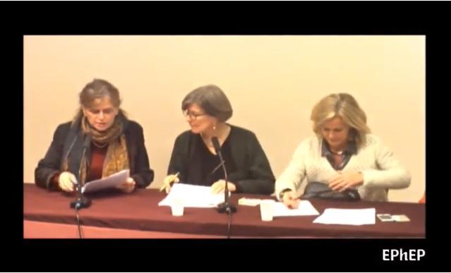 Anne Videau, Anne Joos et S.Calmettes